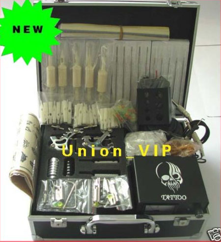 New Tattoo Kits Complete Set with more tattoo equipment